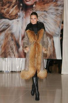 New 2015 milano graphite royal saga mink fur coat class- jacket chinchilla sable in clothes
